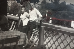 My Mom and dad when they were dating.