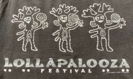 A t-shirt from the first Lollapalooza.