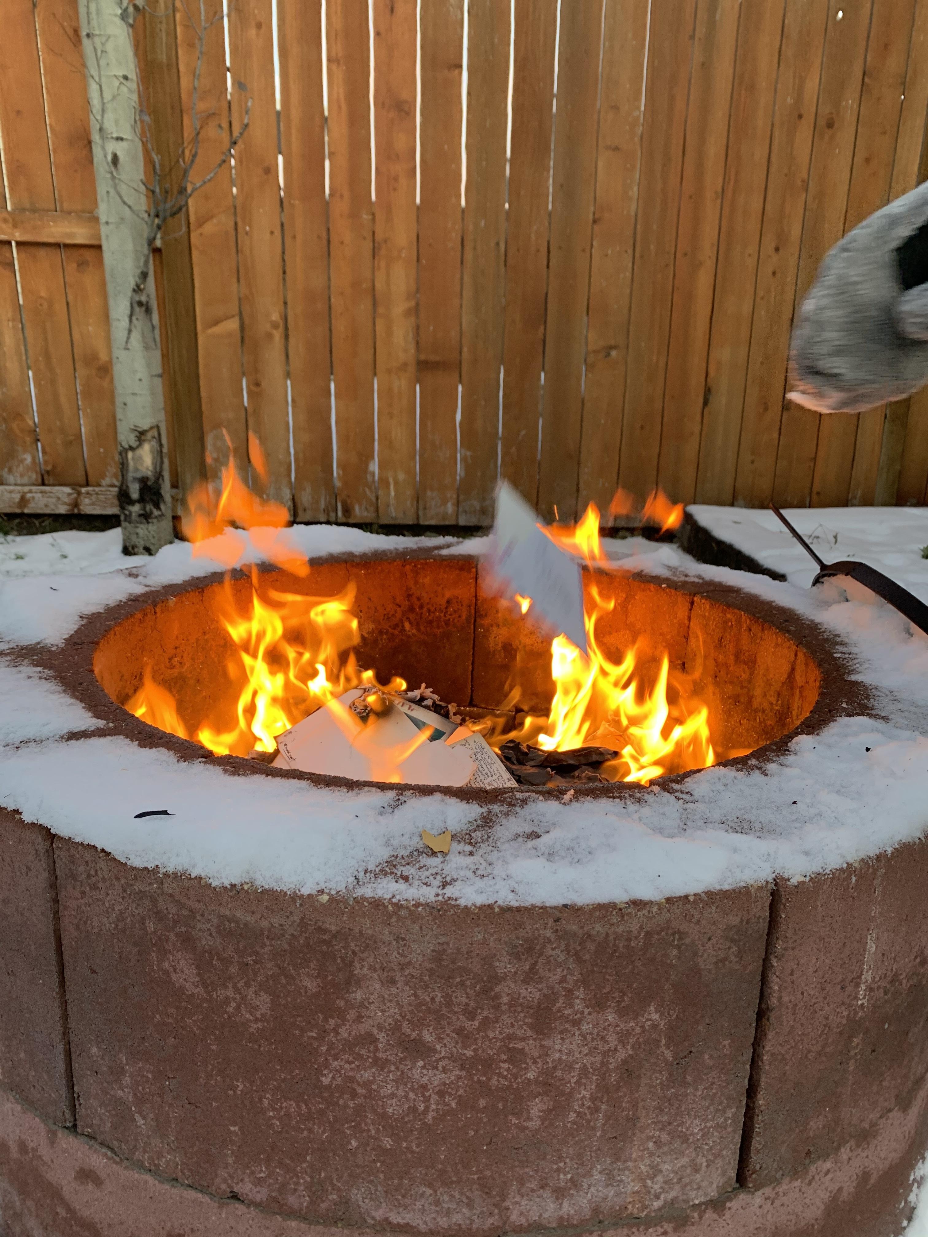 Fire toss